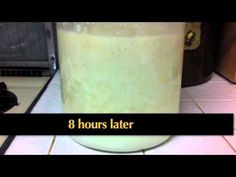 Ripened Kefir is a process. This video describes how to make it. Used an iphone, so sometimes the picture is vertical, sometimes horizontal. Making Kefir, Kefir How To Make, Kefir Milk, Water Kefir, Kefir Probiotic, Fermented Foods, Kombucha, Yogurt, Grains
