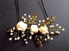 Accesoriu perle artificiale, flori artificiale , margele sticla, accesoriu mireasa 34560 – Cadouri HandMade Bobby Pins, Pearl Necklace, Hair Accessories, Pearls, Jewelry, Green, String Of Pearls, Jewlery, Jewerly