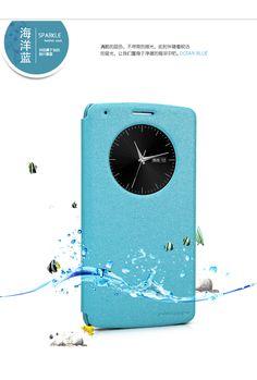 Nillkin Θήκη Smart Cover Preview - Μπλε Sparkle (LG G3) - myThiki.gr - Θήκες Κινητών-Αξεσουάρ για Smartphones και Tablets - Χρώμα μπλε sparkle