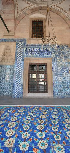 Rustem Pasha Mosque Iznik Tiles Turkey Istanbul