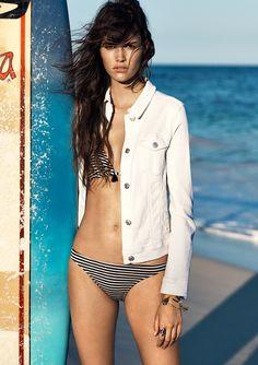 MANGO Summer 2015 Catalogue – Surf Girl – NAWO