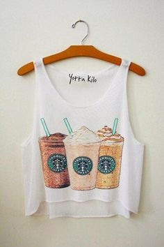 Cute Top! #starbucks #love