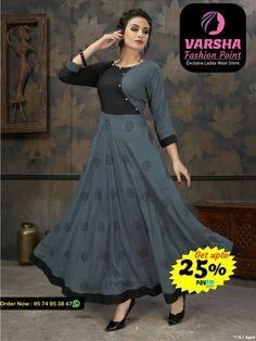 14 kg Rayon   | Size: -L(40), XL(42), XXL(44) | length: - 55  Limited Period Offer | Payment Accepted By PAYTM | Ship Charge Extra*  Inquiry Call / Whatsapp : 9574953847  Visit Now @ Varsha Fashion Point 14, SATYAMEV CHAVNI - 5, OPP.MAHAKALI MATA MANDIR, SUGHAD GAM, Gandhinagar, Gujarat  #Varshafashionpoint #fashionwear #Showroominahmedabad #Sughad #Motera #Agoramall #ladieswear #womenstore #Tops #kurtis New Kurti Designs, Salwar Neck Designs, Churidar Designs, Kurta Neck Design, Kurta Designs Women, Dress Neck Designs, Kurti Designs Party Wear, Designs For Dresses, Gown Party Wear