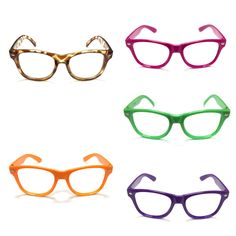 Classic kid hipster glasses in color available now on our website at www.fjspopshop.com starting at $5.95each so head on over to our website now to shop!