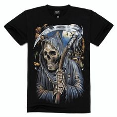 Metal Empire T-shirt 3D Print Novelty-Sickle - FixShippingFee- - TopBuy.com.au