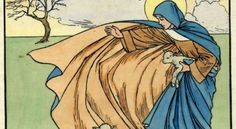 Art for St Brigid's Day Catholic Saints, Patron Saints, St Bridget, Owl Wings, Spiritual Warrior, Winter Festival, Women Of Faith, Sabbats, Indian Gods