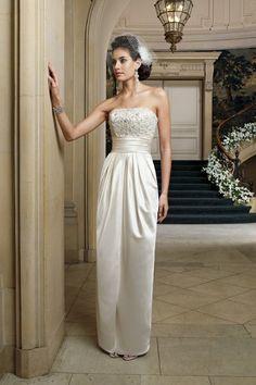 David Tutera for Mon Cheri Wedding Dresses Photos on WeddingWire