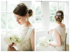 Stunning Jenny Packham Esme Dress | Woodlands Hotel Leeds Wedding | www.clare-robinson.co.uk