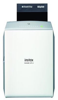 buy now   									£151.07 									    									FUJIFILM Imprimante Instax SHARE SP-2 SilverA portable printer that lets you create Instax mini prints directly from your phone; also print from Instagram and Facebook accounts along  ...Read More