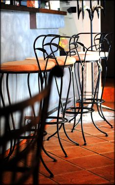 Tipico bar chairs ;) <3  Photo by www.bemyguest.hr