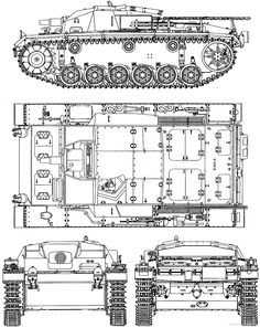 Blueprint STUG-III Ausf C