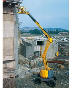 HA 46 JRT Articulating Boom Lift - http://www.buymanlifts.com/product/ha-46-jrt-articulating-boom-lift/