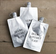Disposable Flasks | 26 Essential Products That Will Make You The Life Of Any Party