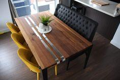 TABLE - NOYER - BANQUETTE MERIDIAN CU009-5  #surmesure #lusine #banquette #meridian #CU009-5