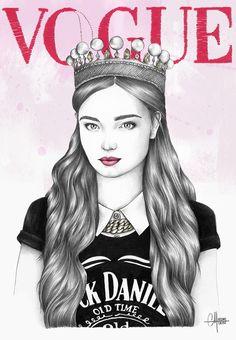 J'ai rêvé d'un Vogue … tout illustré !