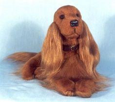 Image result for knit your own irish setter
