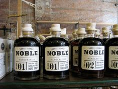 Like the label & top!  Noble Handcrafted Maple Syrup