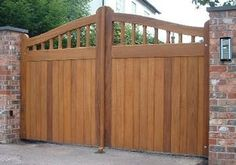 Discover All Building Materials For Sale in Ireland on DoneDeal. Buy & Sell on Ireland's Largest Building Materials Marketplace. Wooden Electric Gates, Double Wooden Gates, Double Gate, House Main Gates Design, Fence Gate Design, Backyard Gates, Garden Gates And Fencing, Front Yard Fence, Front Gates