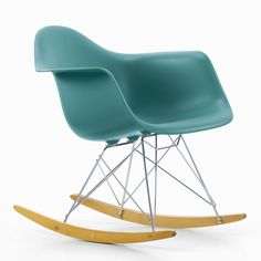 The Vitra RAR Armchair by Charles & Ray Eames is Vitra's re-edition of the now legendary Eames Fibreglass Chair. It is based on the original 1950 design the first industrially manufactured plastic chair. In 1993, Vitra discontinued production for ecological reasons, as fibre glass cannot be recycled. Thanks to recent advances in technology and materials, they are now proud to offer the Eames Plastic Chair in the exact same shape, but made of polypropylene to offer even greater sitting ...