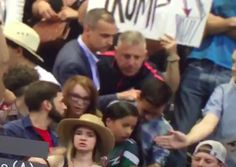 Caught on Camera: Trump's Campaign Manager Appears to Grab Trump Protester by Collar.
