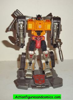 Transformers Titanium GRIMLOCK war within cybertron complete die cast 6 inch series