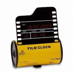 Innovative Product: Check out this clock that looks like a roll of film www.globalsources.com/gsol/I/Novelty-digital/p/sm/1011448389.htm. See more #novelty digital #clocks at www.globalsources.com/gsol/I/Novelty-digital-suppliers/s/2000000003844/3000000200776/10587.htm.