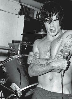 Henry Rollins in a B