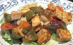 SWEET & SOUR CHICKEN - Linda's Low Carb Menus & Recipes    http://www.genaw.com/lowcarb/sweet_and_sour_chicken.html#