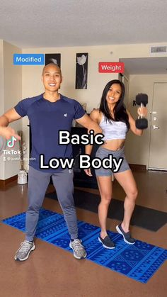 Gym Workout For Beginners, Fitness Workout For Women, Workout Videos, Workout Routines, Easy Workouts, At Home Workouts, Senior Fitness, Low Impact Workout, Workout Challenge