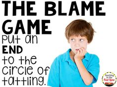 Teaching In The Fast Lane: Tattling in the Classroom