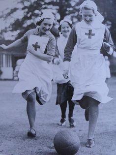 Always time for a bit of fun - Dee - run nun run!!