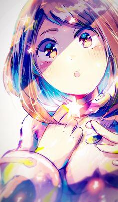 uraraka aesthetic \ uraraka + uraraka ochako + uraraka and bakugou + uraraka x deku + uraraka x bakugou + uraraka aesthetic + uraraka x tsuyu + uraraka icon Anime Angel, M Anime, Fanarts Anime, Anime Girls, My Hero Academia Episodes, My Hero Academia Memes, Hero Academia Characters, My Hero Academia Manga, Boku No Hero Uraraka