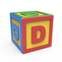 Alphabet, Letter D, Toys, Games, Board, Building, Life, Letters, Activity Toys