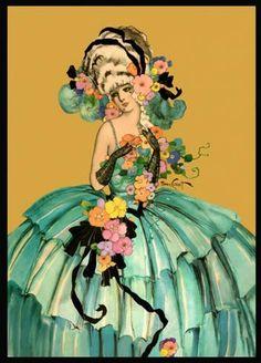 Homer Conant 1920's print...........................