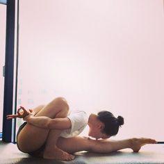 nice yoga...Flexibility
