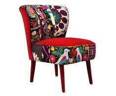 Fotel Clubchair Red Love