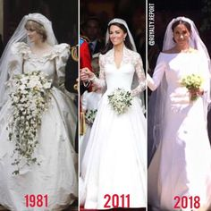 Meredith saved to pngLa princesa Diana, Catherine de Cambridge y Rachae. Princess Diana Family, Princess Meghan, Princes Diana, Prince And Princess, Princess Diana Wedding, Prince Harry And Megan, Prince William And Kate, Royal Brides, Royal Weddings