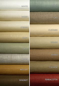 Schumacher Fabric Middleton Linen Flax 93216 Linen Martindale Horizontal: - and Vertical: - 54 - My Fabric Connection - Colour Pallete, Colour Schemes, Drapery Fabric, Linen Fabric, Cotton Fabric, Color Mixing Chart, Color Combinations For Clothes, Ideas Hogar, Fabric Names