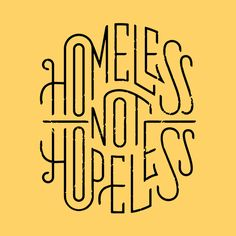 Lettering - Rike Homeless