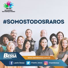 Dia Mundial das Doenças Raras  #somostodosraros