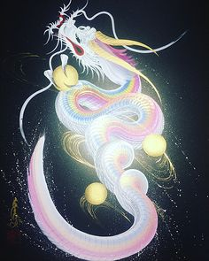 One-stop dragon - Tattoo Thinks Chinese Dragon Drawing, Chinese Drawings, Chinese Dragon Tattoos, Fantasy Creatures, Mythical Creatures, Phönix Tattoo, Watercolor Paintings For Beginners, Fantasy Dragon, Fantasy Kunst