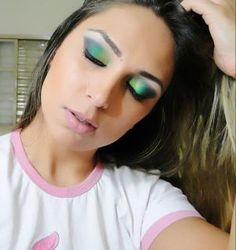 #maquiagem #makeup #verde #esfumado
