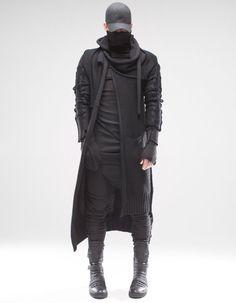Moda Cyberpunk, Cyberpunk Clothes, Cyberpunk Fashion, Dark Fashion, Urban Fashion, Mens Fashion, Steampunk Fashion, Gothic Fashion, Tactical Wear