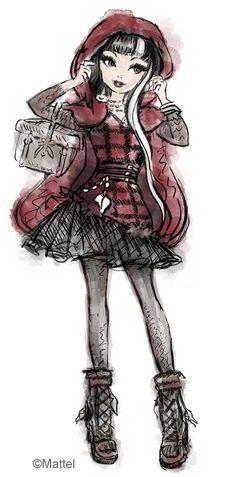 Ever after high cerise hood Ever After High, Little Red, Little Pony, Illustrations, Illustration Art, Lizzie Hearts, Raven Queen, Dc Super Hero Girls, Film D'animation
