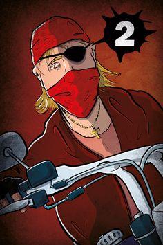 gamedesign - biker - grunge - mmix -