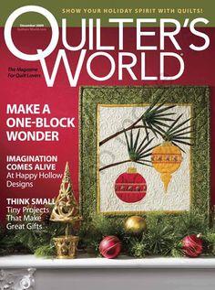 Quilters+World+Dec+2009 - compartilha tudo - Álbuns da web do Picasa