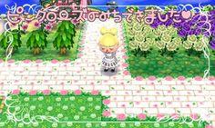 Rosy white bricks
