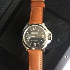 Panerai LUMINOR Marina Pam 111 Stainless Steel Manual Watch for sale online Panerai 111, Panerai Luminor Marina, Watches For Men, Stainless Steel, Accessories, Ebay, Top Mens Watches, Men's Watches