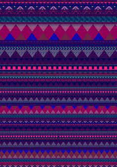 knitted aztec pattern by vasare nar