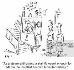 steam train stair - Google Search